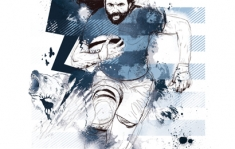 POSTER CHABAL - RACING